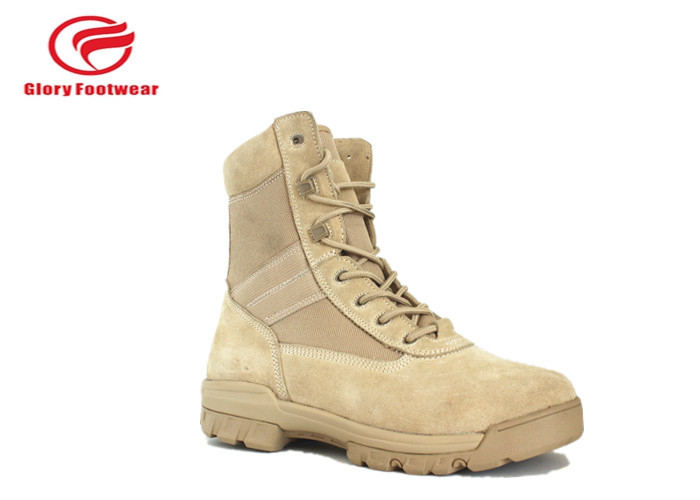 Paratrooper Stylish Lightweight Steel Toe Military Boots With Outsole Rubber
