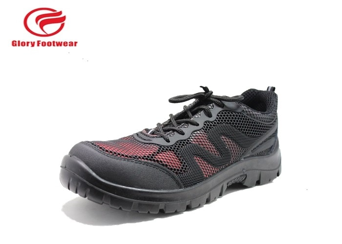Puncture Prevent  Sport Safety Shoes , Men Lightweight Steel Toe Cap Trainers