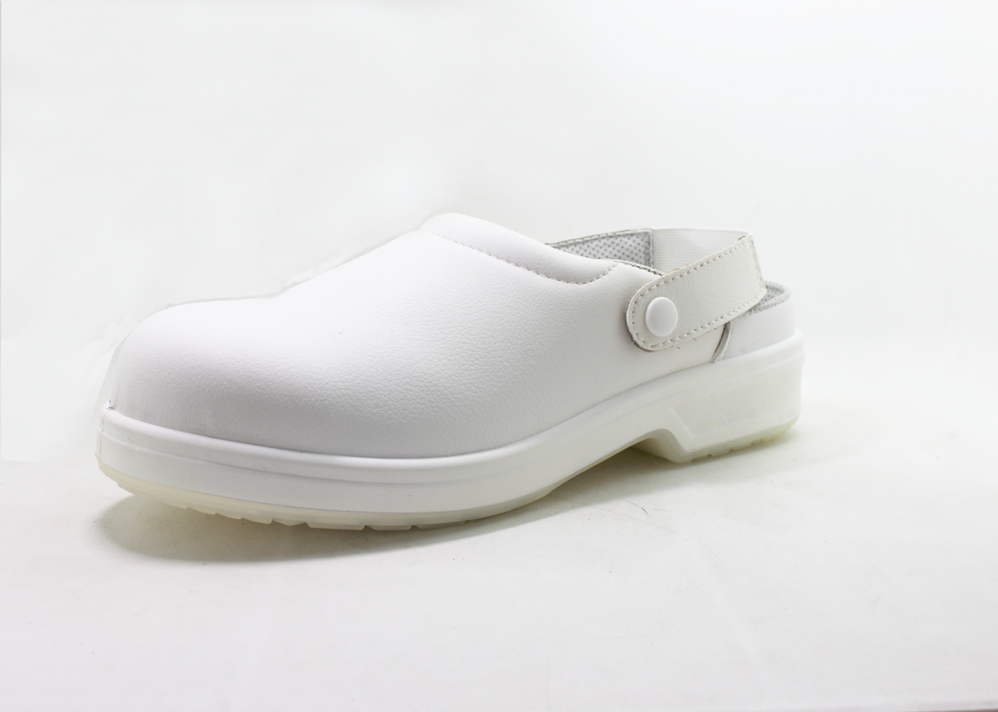 Professional Stylish Safety White Chef Shoes For Doctor / Nurse Work TPU Outsole